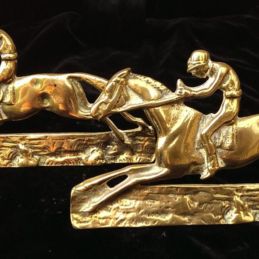 Fred Archer Brass Ornaments