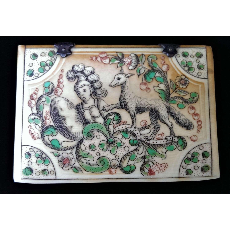 Louis XV Ivory Counter Box