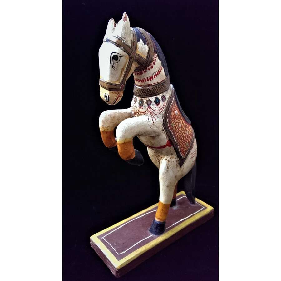 Model of a Dancing 'Ghodi' Wedding Horse