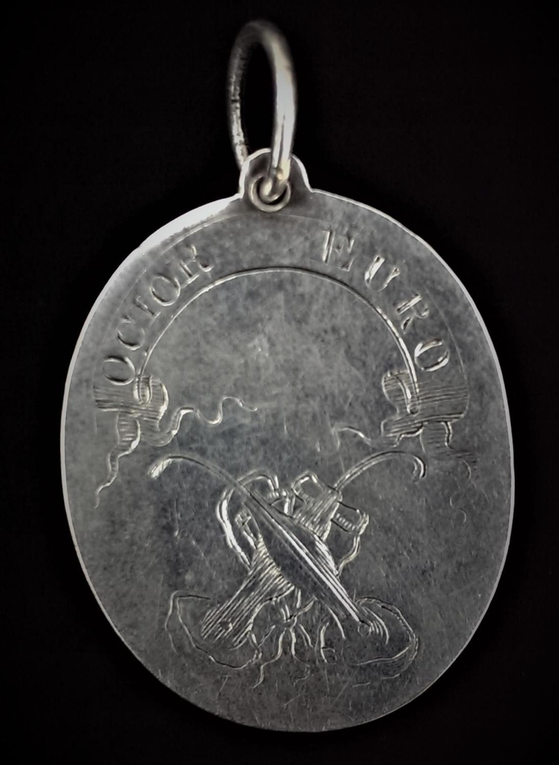 An Important 18th Century Edinburgh Skating Club Member's Badge