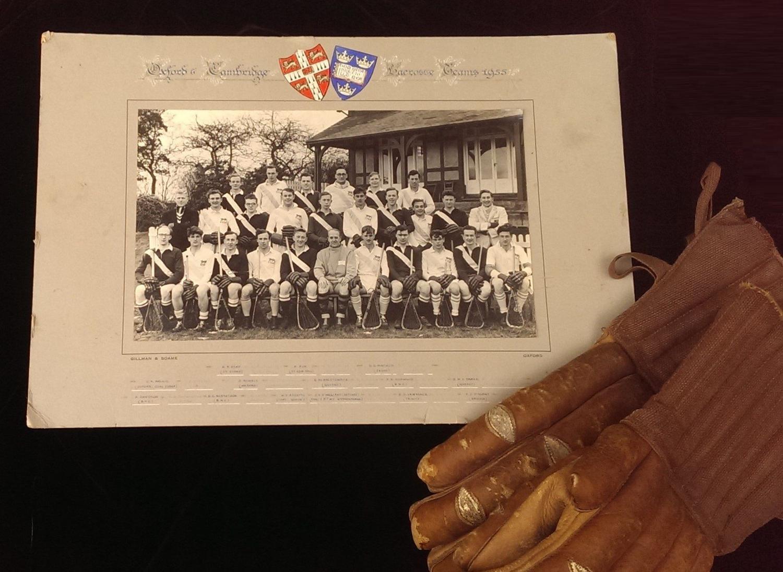 Oxford & Cambridge Varsity Lacrosse Teams 1955