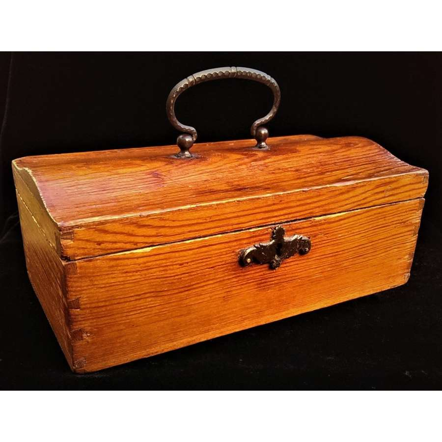 Russian Sewing Box, Retailed by Nicholls & Plincke