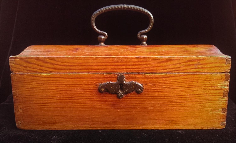 Russian Sewing Box, Retailed by Nicholls & Plincke