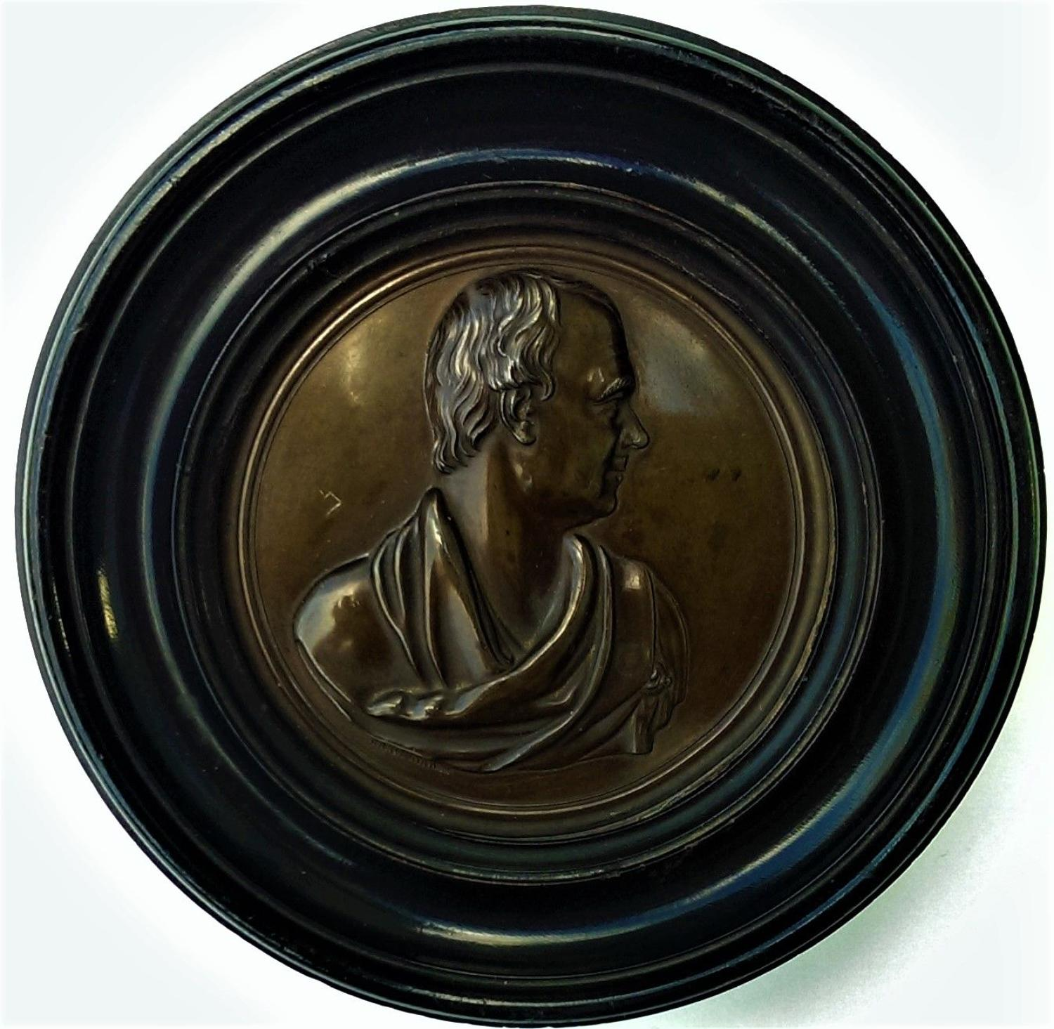 Sir Walter Scott (1771-1832), Portrait Plaque