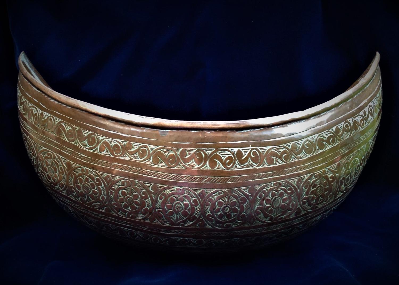 Indo Persian Kashkul, 19th Century