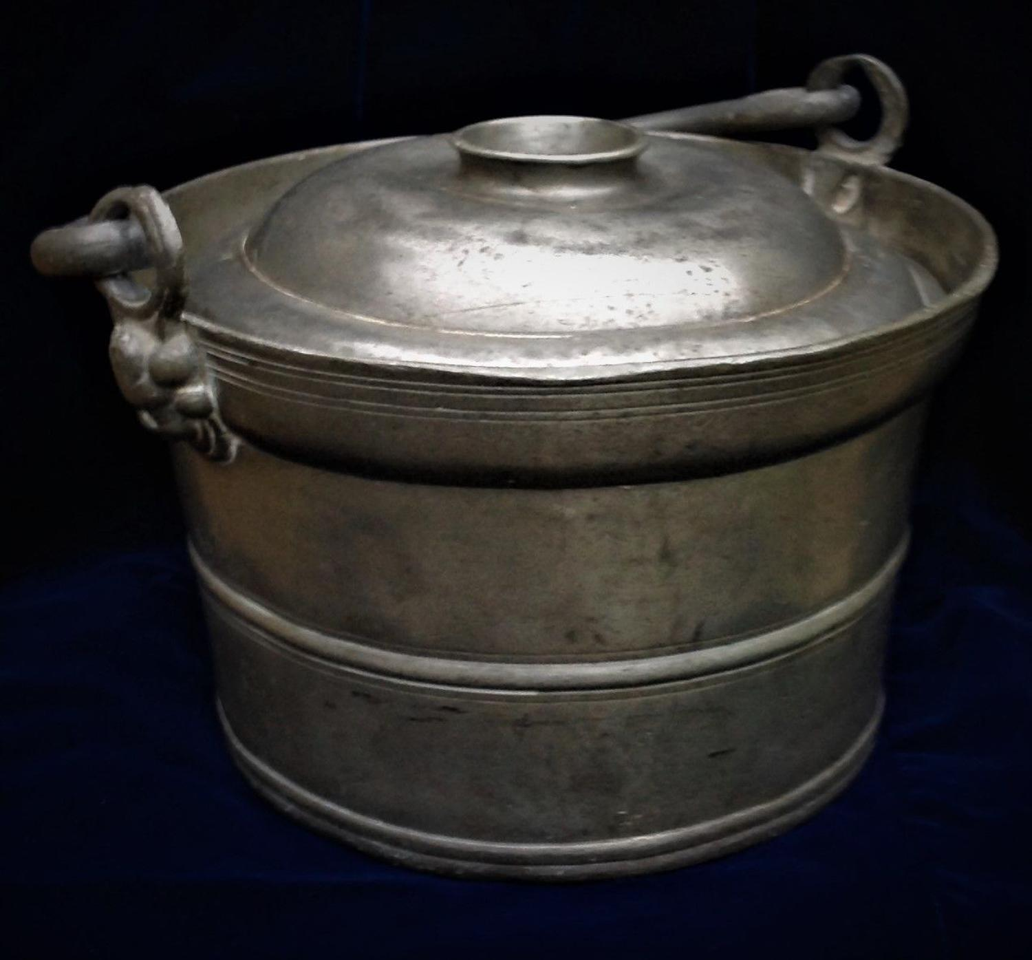 A Distinctive French Pewter