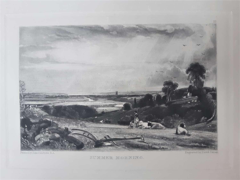 John CONSTABLE, RA (1776-1837) & David LUCAS (1802-1881)
