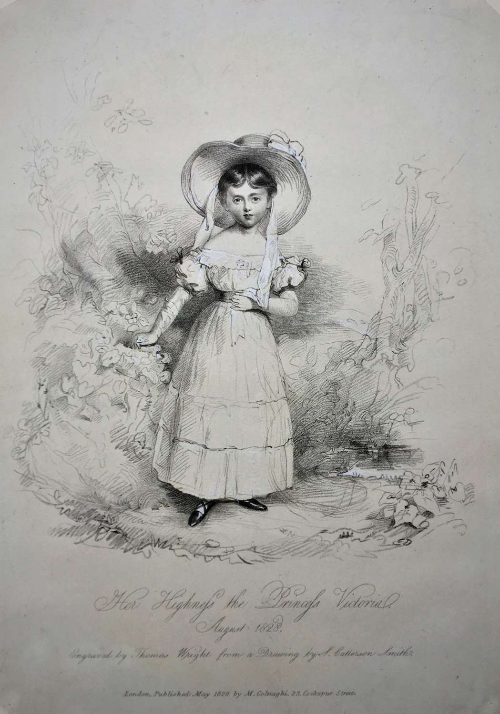 Queen Victoria (as a Princess, aged 9)