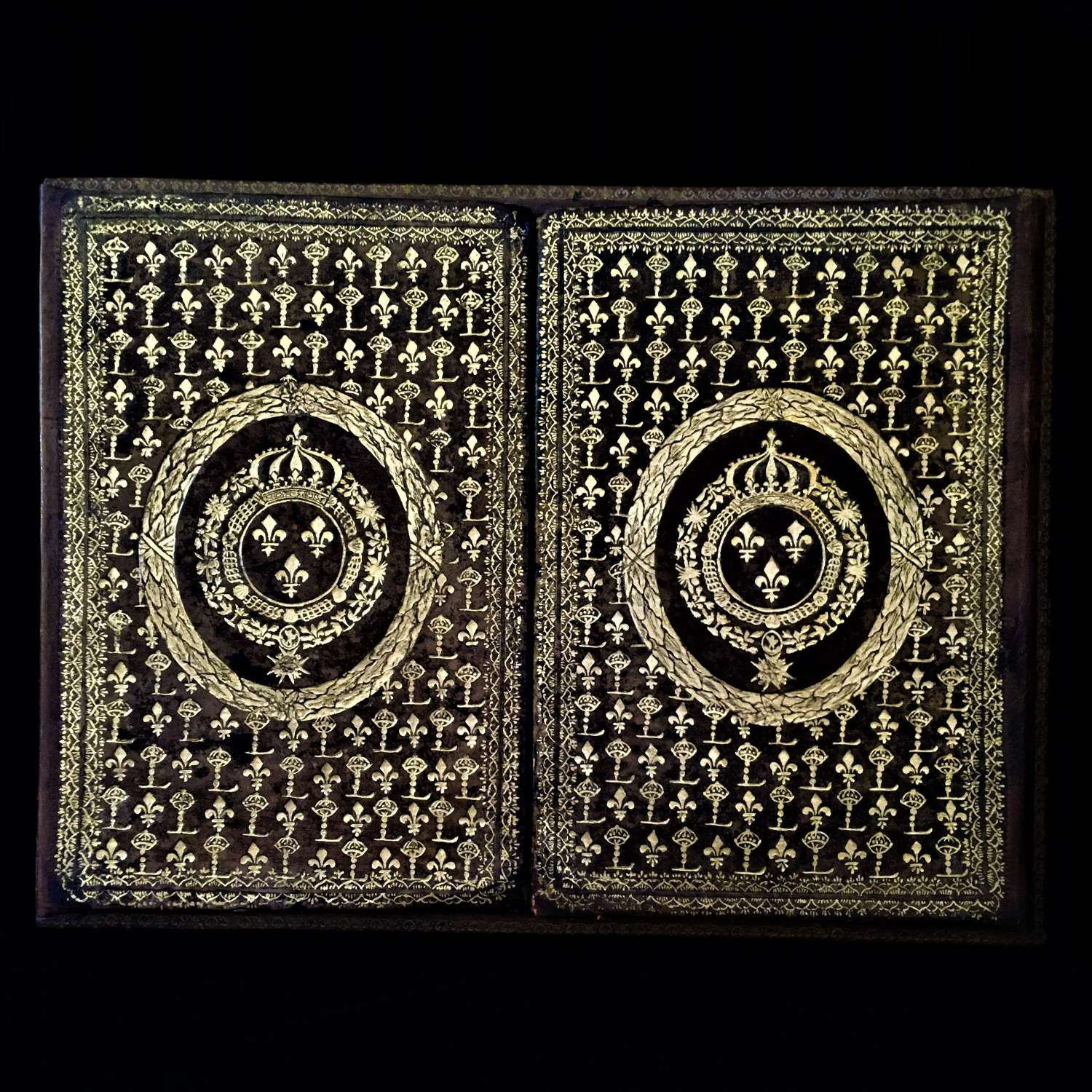 Tooled Leather Binding for Louis XIV (1638–1715)