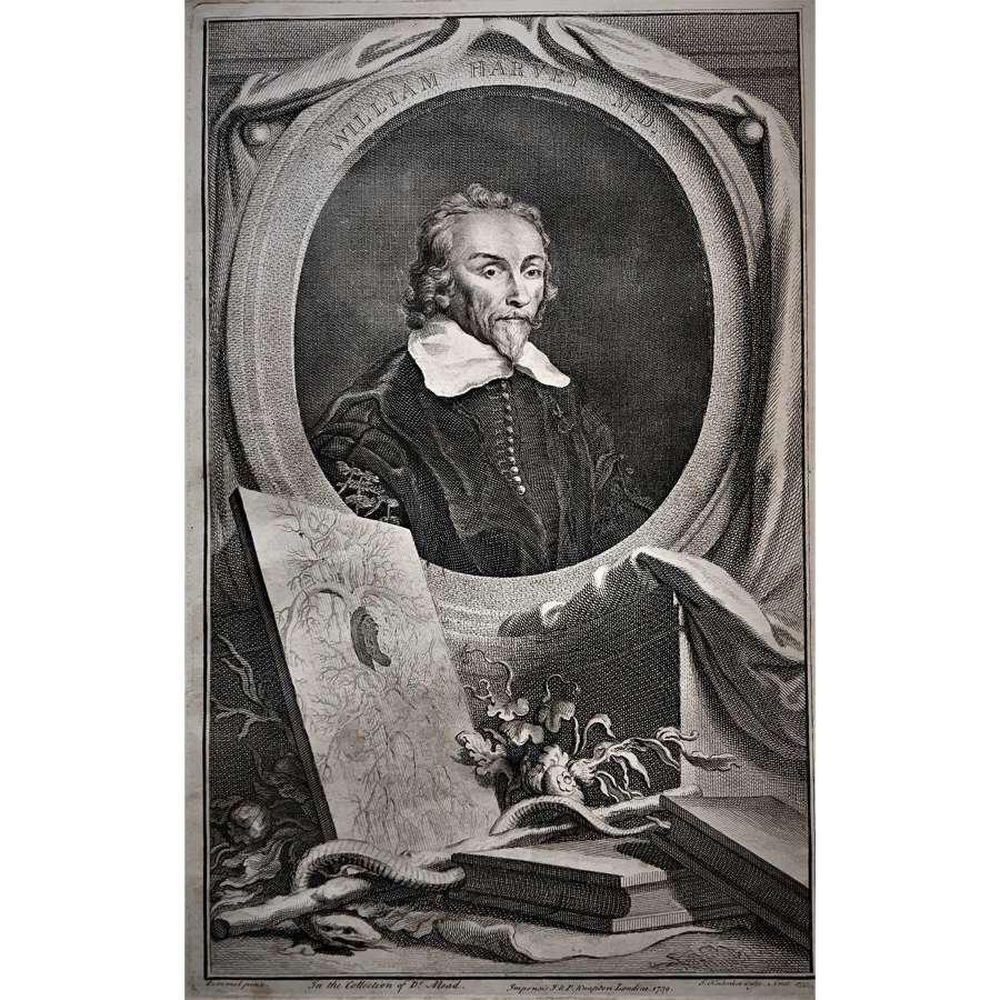William Harvey M.D. (1578–1657)