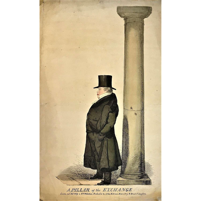 Nathan Mayer Rothschild (1777–1836), Caricatureportrait