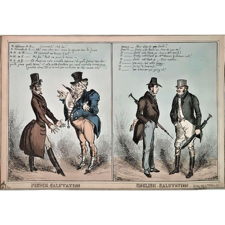 George IV 1829 satirical print