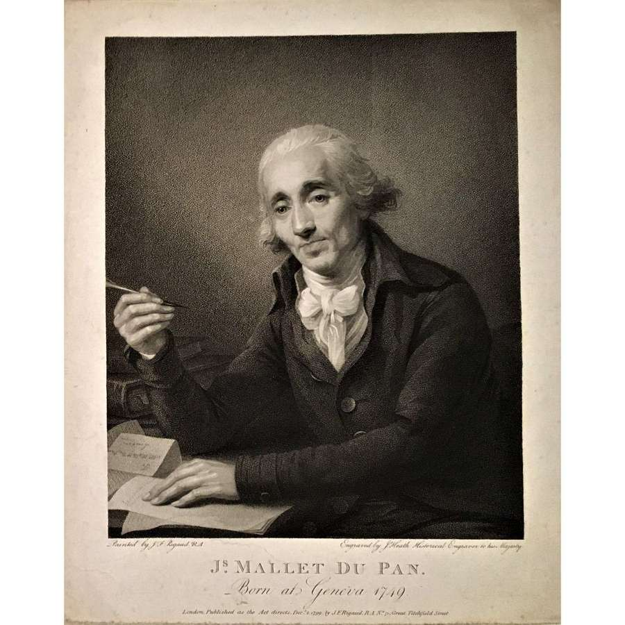 Portrait of the journalist Jacques Mallet du Pan (1749-1800)