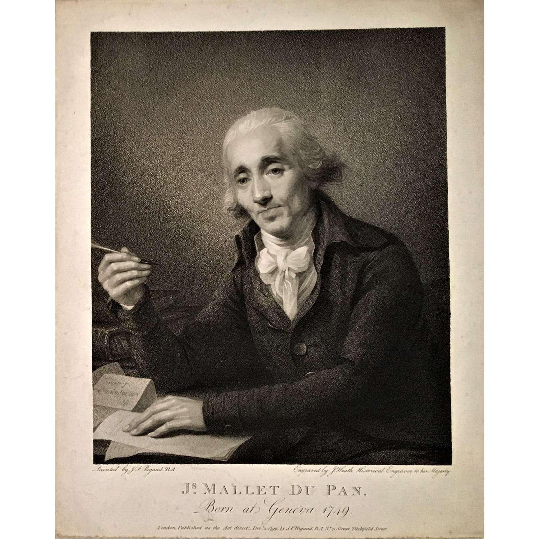 Portrait of the journalist Jacques Mallet du Pan (1749-1800)