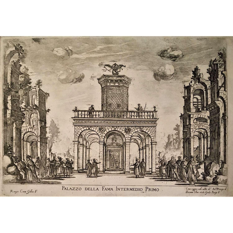 Wedding festivities of Cosimo de' Medici & Maria Magdalena of Austria