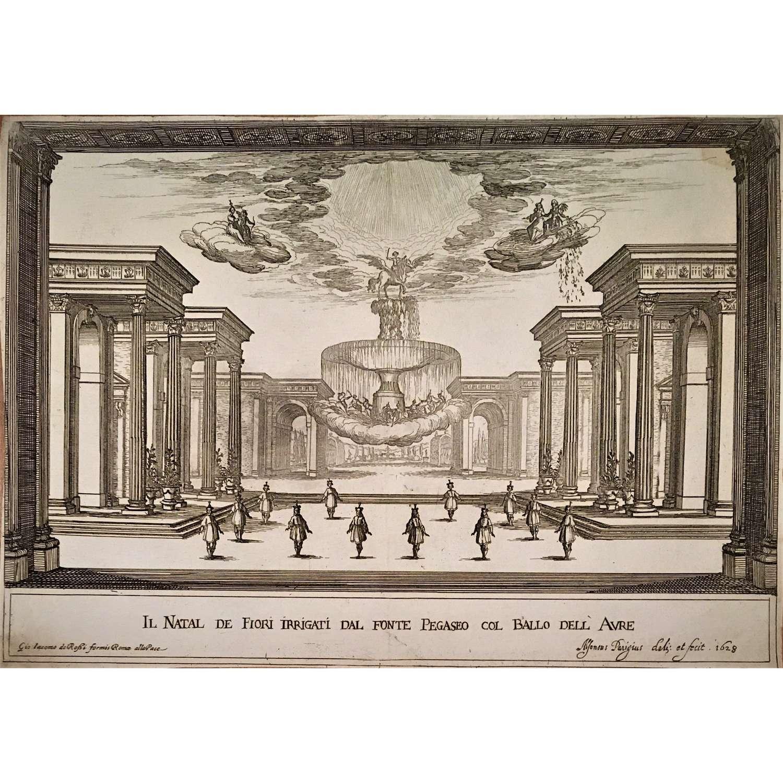 Opera for the marriage of Margherita de' Medici & the Duke of Parma