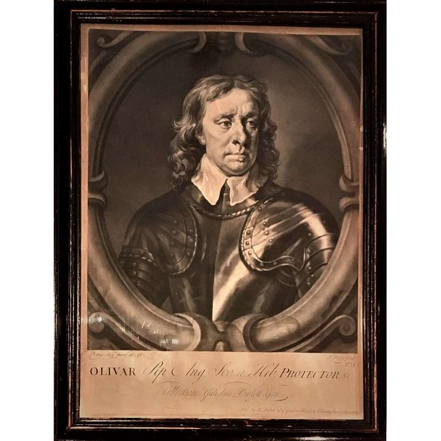 Oliver Cromwell (1599-1658) as Lord Protector