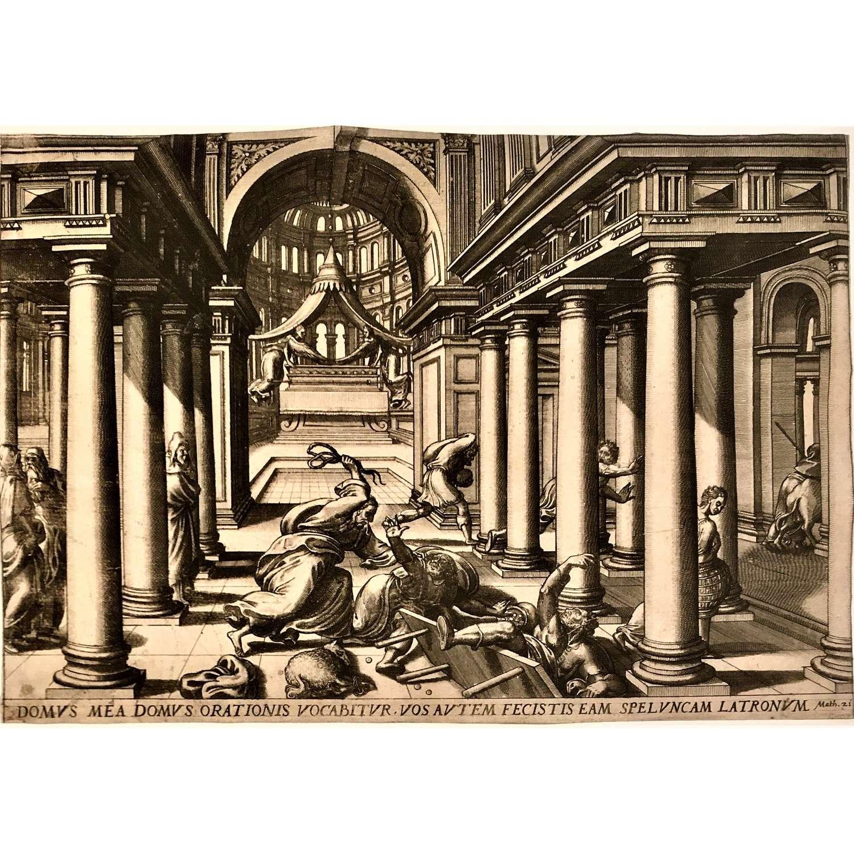 Lucas van Doetecum (c.1554-1572) after Gerard Groenning (c.1550-1599)