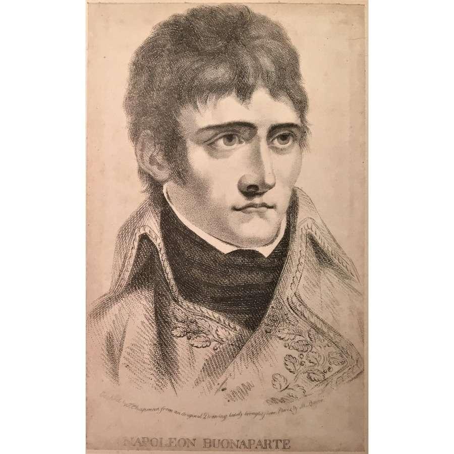 Napoleon Buonaparte portrait as First Consul, Circa 1803
