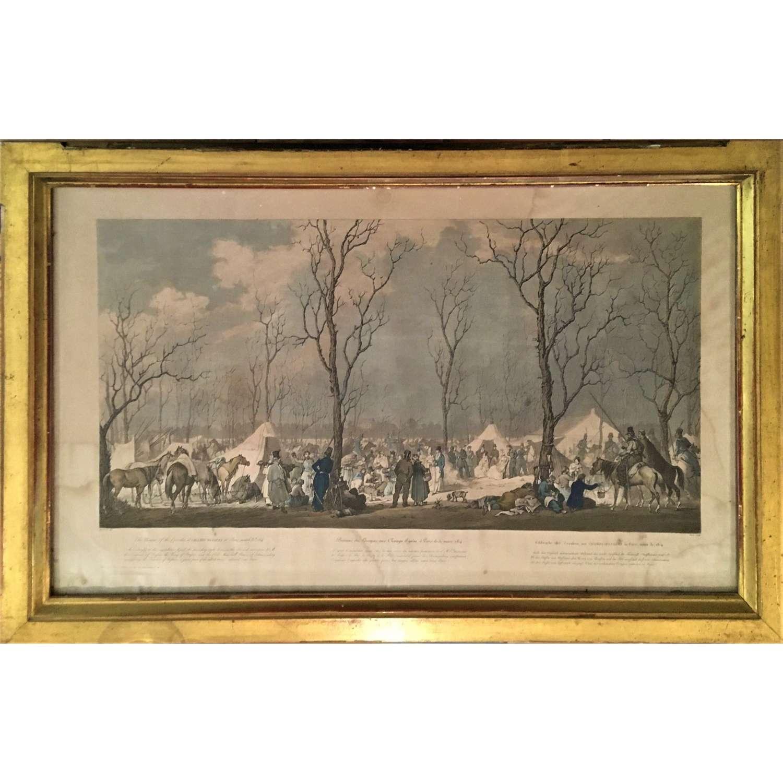 Cossacks on the Champs-Elysées, Paris 31 March 1814