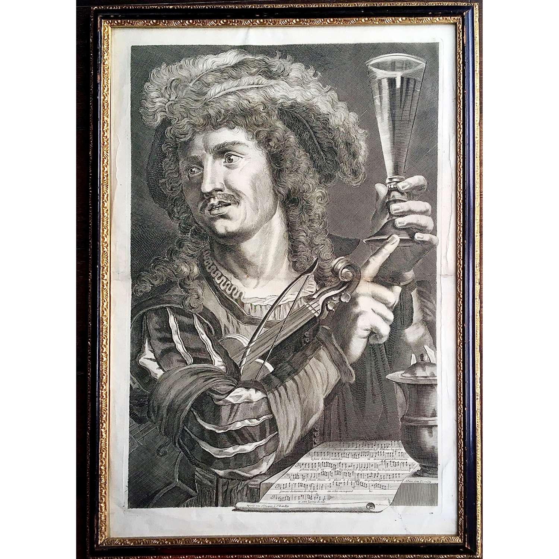 Pierre Landry (1630?-1701) after Gerrit van Honthorst (1592–1656)