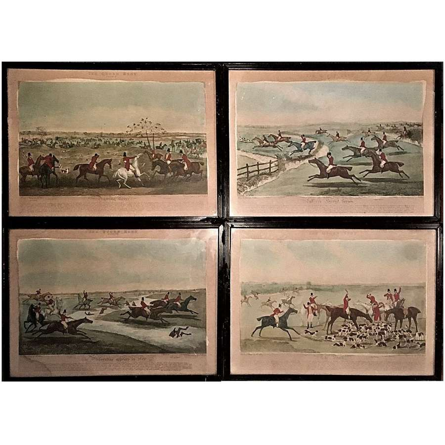 Henry Alken (1785-1851) four prints from