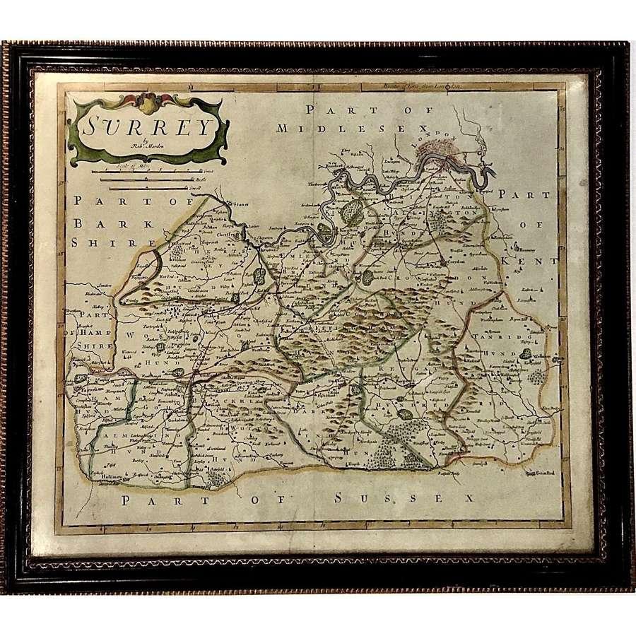Robert Morden (c. 1650–1703), A map of